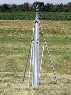 40 ft aluminum telescopic mast by Aeromao Radios, Qrp, Ham Radio Antenna, Telescope, Hams, Arduino, Helpful Hints, Conversation, Projects