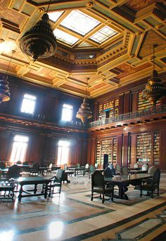 #bibliotecaspordentro Biblioteca del Capitolio, Habana Vieja, #Cuba 2007 / flickr (lezumbalaberenjena) #bibliotecasdecuba