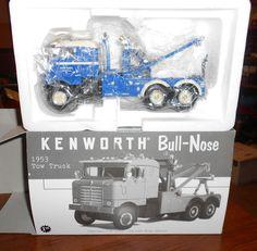 first gear 1:34 diecast 1953 kenworth bull-nose wrecker truck (2639) #FirstGear #Kenworth