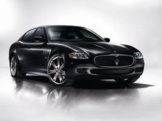 Maserati quattroporte - for the time when I stop caring about parking space :)