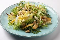 Roasted Apple and Fennel Salad Top w/grilled chicken