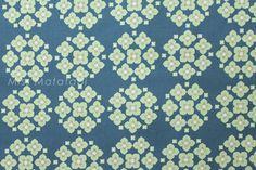 Japanese Fabric Kokka Garden Ellen Luckett Baker  by MissMatatabi, $4.05