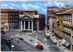 Piazza Borsa anni 60
