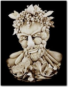 Sculptor David Esterly has created a collection of fine works using limewood.     Esterly had given up English Literature to follow the footsteps of carving master Grinling Gibbons—sculpting original high-relief masterpieces.     These wooden sculptures are beautifully and incredibly detailed, bringing out a realistic effect.