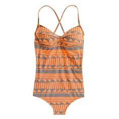 Shapeshift String Tanksuit - Madewell One Piece Swimsuit Modest Swimsuits, Cute Swimsuits, Women Swimsuits, Bikinis, Swimwear, Cute Bathing Suits, Summer Suits, Costume, Spring Summer Fashion