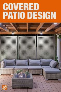 Before and After: Covered Backyard Patio Design Outdoor Seating Areas, Outdoor Rooms, Outdoor Living, Outdoor Decor, Wooden Pergola, Outdoor Pergola, Pergola Ideas, Pergola Kits, Patio Ideas