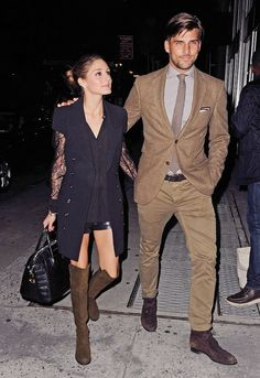 olivia palermo & Johannes looking nothing less than perfect