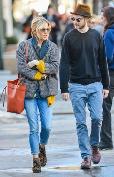 Sienna Miller Photos: Sienna Miller & Tom Sturridge Spotted Out In New York