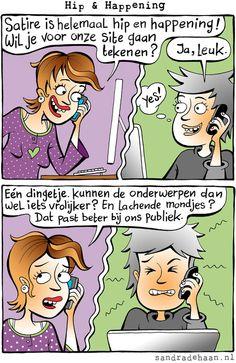 Sandra de Haan | Hip en happening: satire!