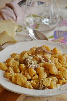 gnocchi di zucca con funghi porcini (3)