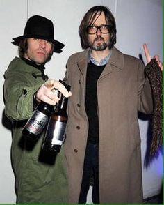 Liam And Noel, Jarvis Cocker, Liam Gallagher, Britpop, Teenage Years, My Boys, Rock And Roll, Robin, Indie