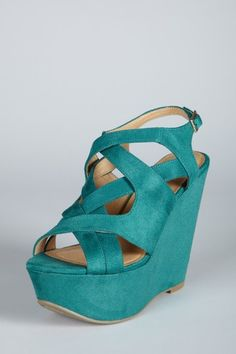 Jade! (I do believe I'm loving the color more than the shoe itself.)