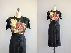 1940s sequin dress