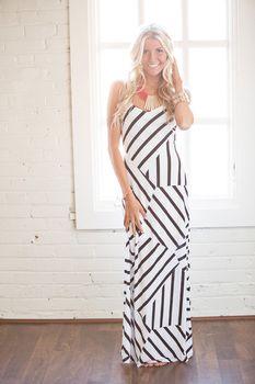 Restock!!! Summer Goddess Maxi Dress White - Modern Vintage Boutique