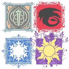 THE FOUR SYMBOLS by ~MugenMusouka