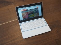 Shiny and new!- Google's new 'Chromebook for everyone' is a sleek 11-inch HPlaptop