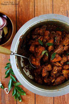 Spicy Chicken Dry Roast