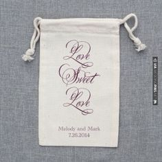 What would you like to see on our cute little favor bags? | CHECK OUT MORE IDEAS AT WEDDINGPINS.NET | #weddings #weddinggear #weddingshopping #shopping