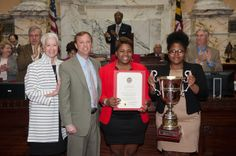 National champion Towson University debaters recognized at Maryland State House By Sedonia Martin on April 6, 2014