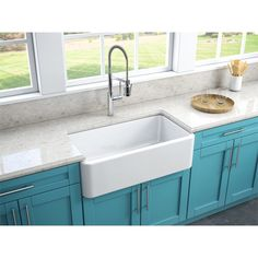 Stainless Steel 30 Inch Farmhouse Apron Sink | Overstock.com Shopping   The  Best Deals On Kitchen Sinks | Kitchen Remodel | Pinterest | Farmhouse  Aprons And ...