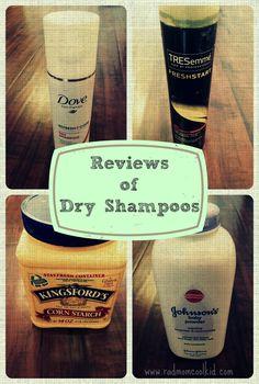 Review of Dry Shampoo : rad mom cool kid