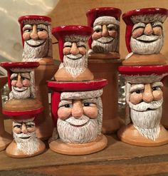 Chickanwhittle hand carved wooden spools Etsy