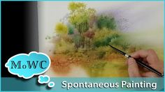 Spontaneous watercolor painting is back. This time on the brand new Canson Heritage watercolor paper. L'Aquarelle Canson Heritage 140 lb. block – http://amzn...