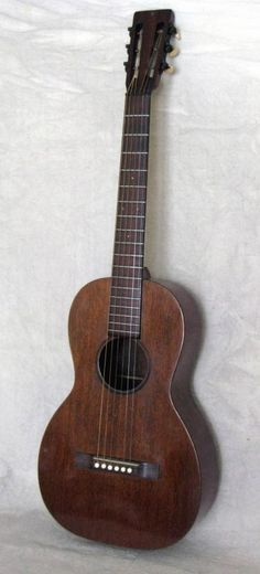 """C. F. Martin 2-17 - 1927. A rare and lovely little guitar from Martin's """"Golden Era"""". Asking $2500 as at Nov 2014. 2 of 2"""
