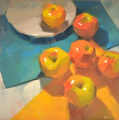 Carol Marine's Painting a Day: Apple Migration