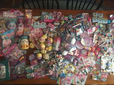 New Lot Of 50 Blind Bags, Toys, Surprises Take A Look!! Birthday Wishlist, Birthday List, Toys For Girls, Kids Toys, Girls Play Tent, Evil Pranks, Cute Polymer Clay, Lisa Frank, Lol Dolls