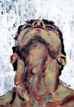 Photographie Art Corps, Art Painting Tools, Painting & Drawing, Queer Art, Art Of Man, Arte Sketchbook, Gay Art, Pretty Art, Portrait Art