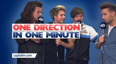One Direction In One Minute!