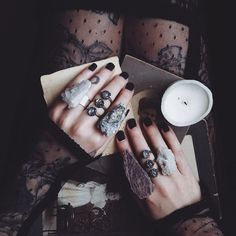 Modern witch style.