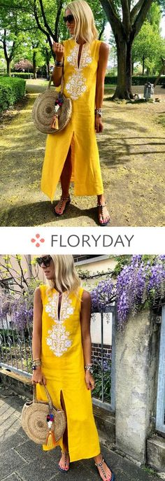 Shop Floryday for affordable Dresses. Floryday offers latest ladies' Dresses collections to fit every occasion. African Wear, African Dress, African Fashion, Cool Outfits, Summer Outfits, Casual Outfits, Summer Dresses, Holiday Outfits, Affordable Dresses