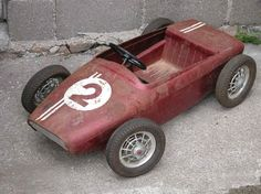Karting, Vintage Cars, Antique Cars, International Pickup Truck, Car Racer, Soap Boxes, Metal Toys, Kids Ride On, Pedal Cars
