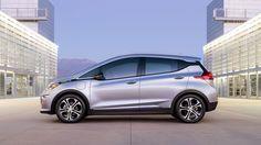Electric Vehicle Crossover - 2017 Bolt EV Exterior Photo 2