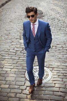 Anzüge für den Bräutigam - aktuelle Hochzeitsmode für Herren