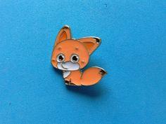 Pin's RENARD MIGNON de la boutique PapiCocotte sur Etsy