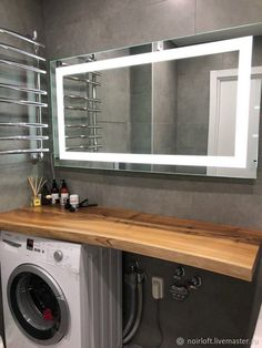 Condo Design, Apartment Design, House Design, Scandinavian Interior Design, Modern Interior, Modern Small Bathrooms, Dry Sink, Table Top Design, Laundry Room Organization