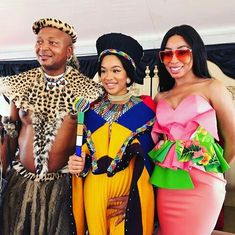 African Outfits, African Attire, African Wear, African Fashion Dresses, African Style, African Beauty, African Dress, Zulu Traditional Attire, African Traditional Dresses