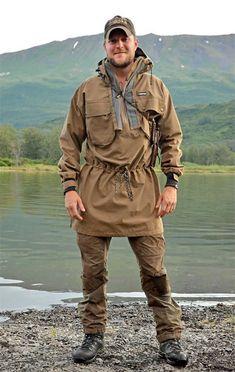 Kristian in his Swazi Tahr Anorak, on Kodiak Island