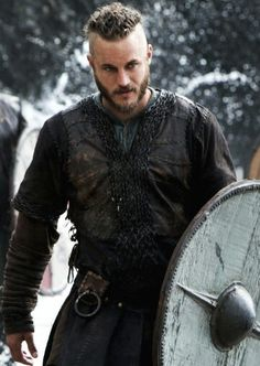 Ragnar from the show Vikings...