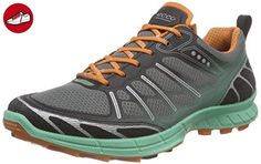 Ecco ECCO BIOM TRAIL FL, Damen Outdoor Fitnessschuhe, Mehrfarbig (BLACK/GRANITE GREEN/ORANGE59481), 42 EU (8 Damen UK) - Ecco schuhe (*Partner-Link)