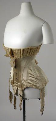 1907 French Silk Corset