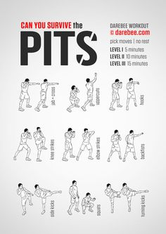 Can you Survive the Pits - Daerbee Workout