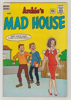 Archie's Madhouse Vol 1 33 Silver Age Comic by RubbersuitStudios #archiesmadhouse #sabrinatheteenagewitch #comicbooks