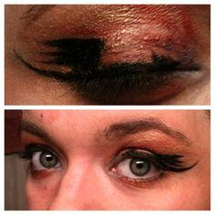 Dragon eyeliner! Gotta love the Desolation of Smaug