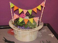 Dekoration - Happy Birthday Geburtstags Wimpelkette - ein Designerstück von Wonderful-Paper-Art bei DaWanda