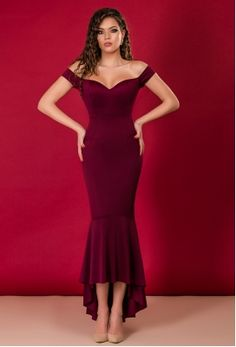 Rochii online Formal Dresses, Red, Fashion, Red Gown Dress, Vestidos, Wine, Dresses For Formal, Moda, Formal Gowns