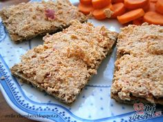 Jednoduchá pomazánka z tofu od Andie. Tofu, Banana Bread, Low Carb, Lunch, Dinner, Recipes, Sport, Biscuits, Diet